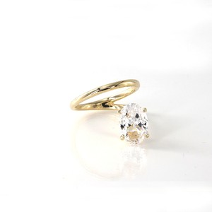 Island Oval Ring
