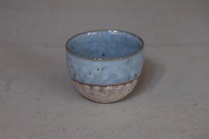 村上躍 4.藁白釉砂化粧茶杯