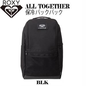 RBG204328 ロキシー 新作 バックパック リュック レディース 保冷 プレゼント ギフト 通販 人気 ブランド ブラック 黒 アウトドア 旅行 ALL TOGETHER ROXY