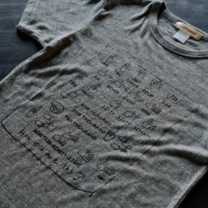 【LINESTUDIO-R】プリントTシャツ(手話)