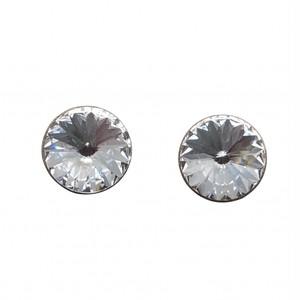 スタッド ピアス クリスタルカラー KRiKOR ドイツ製 Stud Pierce Crystal