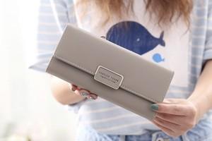 レディースファッション 財布 小物 かわいい カードケース おしゃれ 小銭いれ カジュアル シンプル 長財布★02910