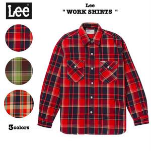 WORK SHIRTS / フランネル ワークシャツ Lee / リー / LT0655 ワークシャツ/ ネルシャツ / チェックシャツ