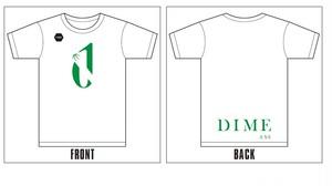 "TOKYO DIME ""D""ロゴTシャツ WHITE"