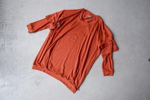 ohta orange double T (orange / size:F)