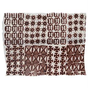 アシャンティ族のアディンクラの手漉き紙 11 / Asante Adinkra Handmade Paper 11