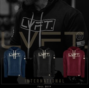 LIVE FIT International II Hoodie - BLACK