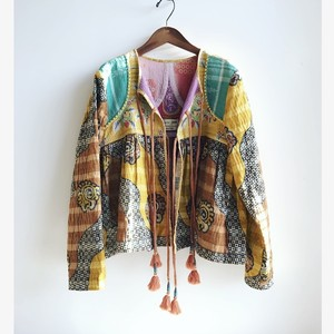 Hand Embroidered Kediya Jacket
