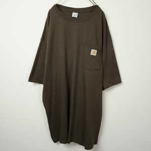 carhartt crew neck T brown