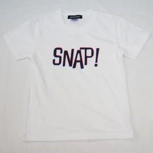 SNAP! Tシャツ キッズサイズ ホワイト