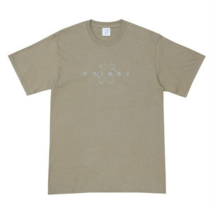 WHIMSY - SIXSTAR LOGO TEE (Dusty Brown)