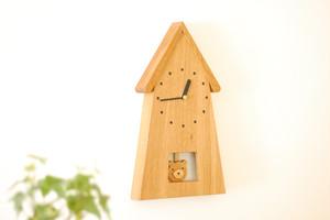 クマの振り子時計