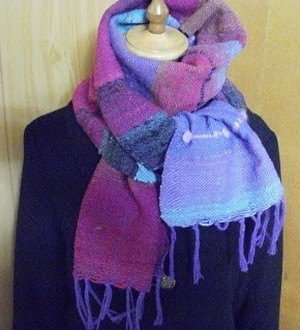 冬物マフラーW01(noro)