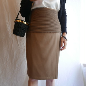 VERSACE Lt. Brown Skirt
