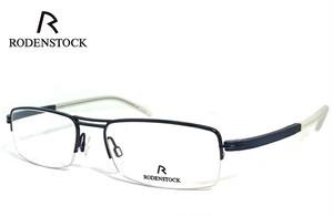 ローデンストック 眼鏡 (メガネ) RODENSTOCK r4720 D ナイロール ハーフリム コンビネーション フレーム