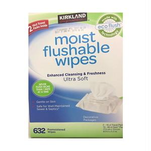 コストコ カークランドシグニチャー 流せるウェット ワイプ 632枚 | Costco Wet wipes 632 sheets which can be passed Costco Kirkland Signature