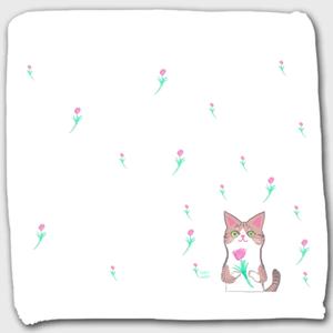 ハンドタオル【綺麗なお目目FLOWER】