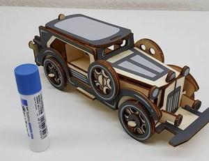 【送料無料】3D立体パズル 旧車 ロールスロイス