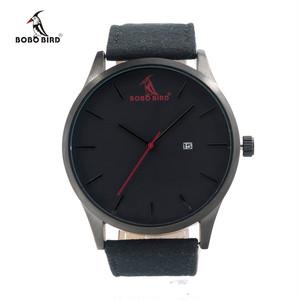 メンズ腕時計 クールなデザイン クォーツ式
