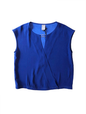 JALAN BLOUSE BLUE / ANNE WILLI