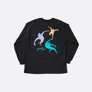 KONCOS | Whistle Song L/S T-Shirts [Black]