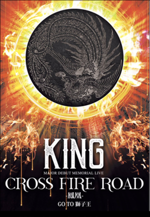 【残りわずか】DVD「KING CROSS FIRE ROAD -鳳凰- GO TO 獅子王」