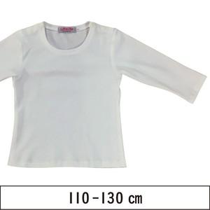ニット地でつくる七分袖カットソー 110-130