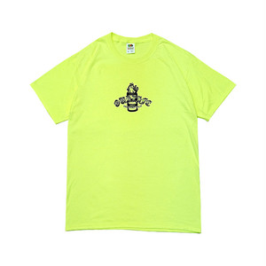 OURLIFE - IGNITION BARREL TEE (SAFETY GREEN)