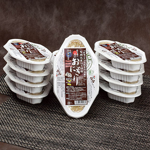 有機玄米おにぎり24パックセット 「那須くろばね芭蕉のお米」100%使用 [Organic  brown rice×24]