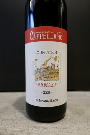 Barolo Pie Rupestris 2008 / Cappellano( バローロ ピエ ルペストリス / カッペッラーノ )