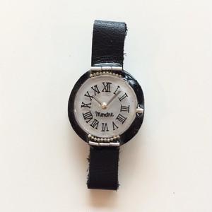 キャトルシス 腕時計ブローチ / ブラック