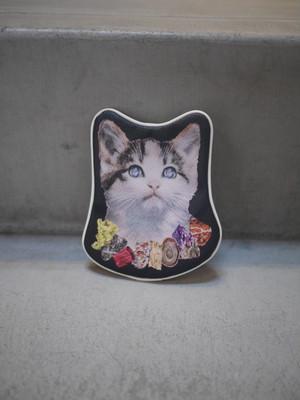 UNDER COVER / TRANSCRIPTION POUCH CHARM (Cat Jewel)