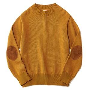 HARD cotton mockneck knit sweat
