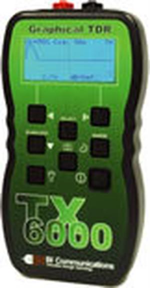 高性能TDRケーブル測長・診断機 TX6000