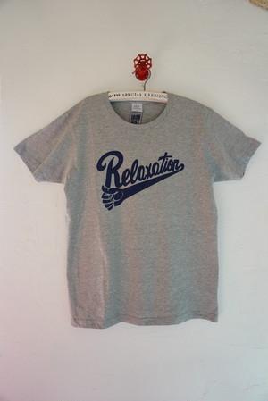 Relaxation Revolution Tee CityPopグレー