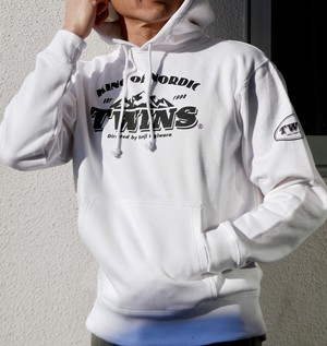 TWINS hoodie heavyweight + TWINS sticker
