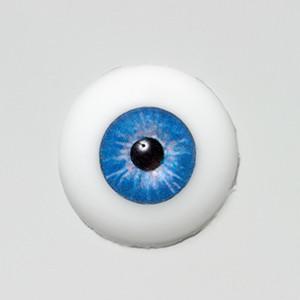 Silicone eye - 13mm Marine Blue Star