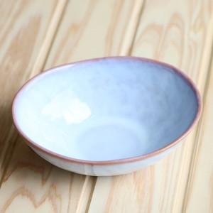 楕円鉢 浅紫
