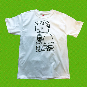 Let's go home.ホワイトTEESHIRT M size