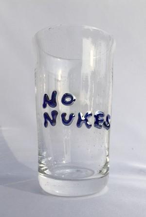麻炭ガラス『NO NUKES タンブラー』