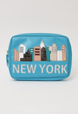 MUVEIL NEW YORK モチーフ クラッチ バッグ