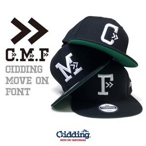 【★】Gidding13™ : G.M.F AtoZ SNAPBACK CAP / スナップバック キャップ