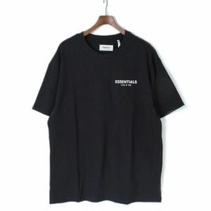 FEAR OF GOD(フィアオブゴッド)FOG - Fear Of God Essentials ロゴ Tシャツ カットソー オーバーサイズ ビックシルエット XXS ブラック r015129