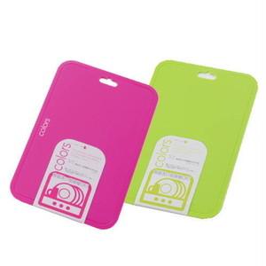Colors(カラーズ)食器洗い乾燥機対応まな板(中) PC-345ピンク/PC-348グリーン