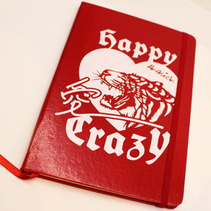 I HAPPY CRAZY ノート