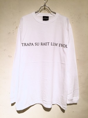 "LONG SLEEVE Tee ""LWTUA"" (WHITE)"