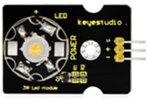 3W LEDモジュール(Keyestudio製)