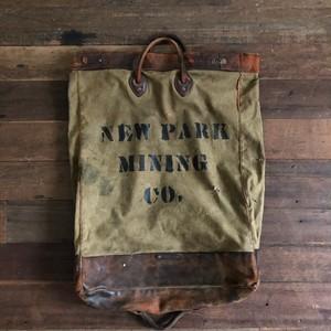 Vintage Mining Bag