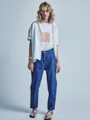 sieste peau  Denim Pants