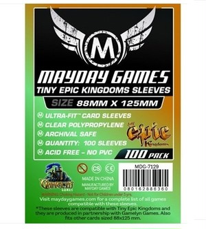 (88x125mm) Mayday カードスリーブ 「Tiny Epic Kingdoms」サイズ  MDG-7129